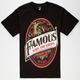 FAMOUS STARS & STRAPS Goat Label Mens T-Shirt