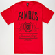 FAMOUS STARS & STRAPS LAC City Mens T-Shirt