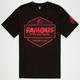 FAMOUS STARS & STRAPS Hexer Mens T-Shirt
