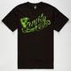FAMOUS STARS & STRAPS Family Leaf Mens T-Shirt