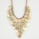 FULL TILT Graduated Coin Necklace
