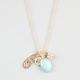 FULL TILT Cluster Charm Necklace