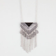 FULL TILT Epoxy Triangle Necklace
