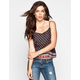 FULL TILT Border Print Womens Cami