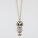 FULL TILT Cut Out Owl Necklace