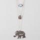 FULL TILT Disc/Stone/Elephant Necklace