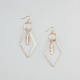 FULL TILT Disc/Geo/Feather Earrings