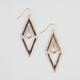 FULL TILT Diamond Drop Earrings