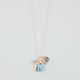 FULL TILT Turquoise/Wing/Horn Charm Necklace