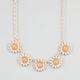 FULL TILT 5 Flower Necklace