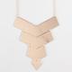 FULL TILT Chevron Bar Necklace