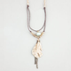 FULL TILT Feather Bead Necklace