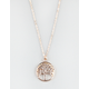 FULL TILT Tree Pendant Necklace
