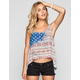 FULL TILT Fairisle Flag Womens Tank