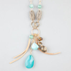 FULL TILT Metal Leaf Charm Necklace