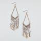 FULL TILT A Wire Dainty Bead Dangle Earrings