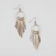 FULL TILT Textured Metal Sticks Earrings