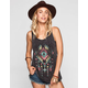 FULL TILT Tribal Print Womens Washed Tank