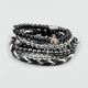 FULL TILT Braided & Bead Bracelet Set