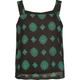 FULL TILT Medallion Print Girls TAnk