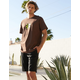 DICKIES Black Mens Slim Fit Work Shorts