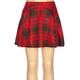 FULL TILT Plaid Girls Ponte Skater Skirt