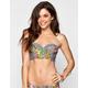 MINK PINK Wild Arrangement Bustier Bikini Top
