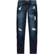 SCISSOR Roll Cuff Girls Boyfriend Jeans