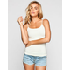FULL TILT Essential Womens Short Layering Cami