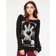 METAL MULISHA Three Swords Womens Sweatshirt