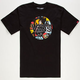 VANS Star Wars Comic Circle Mens T-Shirt