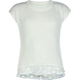 FULL TILT Crochet Bottom Girls Tee