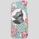 ANKIT Floral Cat iPhone 5/5S Case