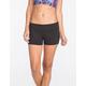 FULL TILT Sport Womens Fold-Over Yoga Shorts