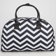 Chevron Stripe Duffle Bag