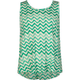 FULL TILT Chevron Stripe Girls Swing Tank
