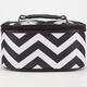 Chevron Stripe Print Cosmetic Bag