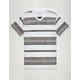 BLUE CROWN Freeport Stripe Mens T-Shirt