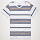 BLUE CROWN Freeport Stripe Mens T-Shirt
