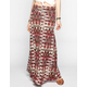 FULL TILT Abstract Chevron Print Maxi Skirt