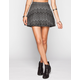 FULL TILT Textured Chevron Skater Skirt