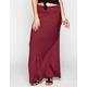 FULL TILT Bias Stripe Maxi Skirt