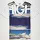 FAMOUS STARS & STRAPS Sky High Mens T-Shirt
