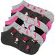 FULL TILT Mustache Love 6 Pack Socks