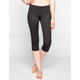 FULL TILT SPORT Womens Capri Leggings