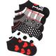 FULL TILT I Heart Me 6 Pack Socks