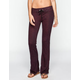FULL TILT  Marled French Terry Womens Flare Pants