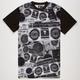 FAMOUS STARS & STRAPS Ghetto Blaster Mens T-Shirt