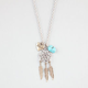 FULL TILT Dreamcatcher/Love Charm Necklace