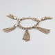FULL TILT Tassel Fringe Chain Bracelet